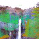 日光、華厳滝の崖面崩壊 / cliff failures around Kegon Falls